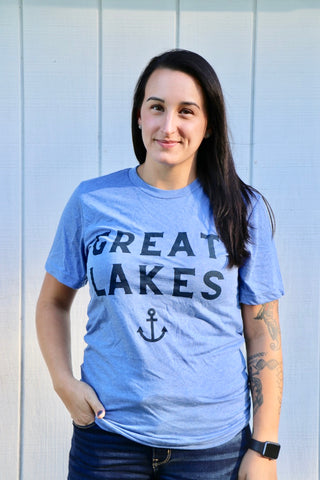 Great Lakes Blue Tee