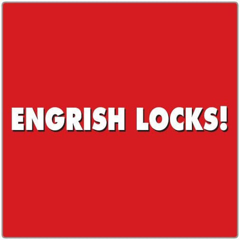 Engrish Locks - T-shirt