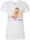 """Stay at Home"" (in Japanese) - Women's Tee"