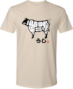 Beef Cuts (Ushi) - Japanese T-shirt