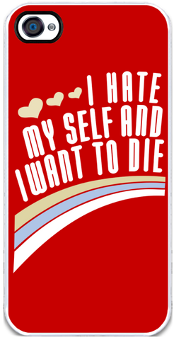 I Hate Myself - iPhone 4 Case