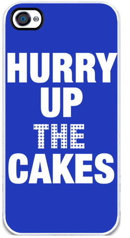 Hurry Up the Cakes - iPhone 4 Case