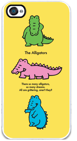 Alligators - iPhone 4 Case