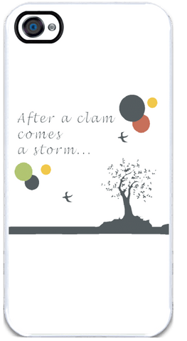 After a Clam - iPhone 4 Case