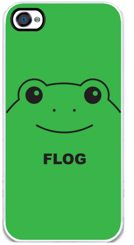 Flog - Green iPhone 4 Case