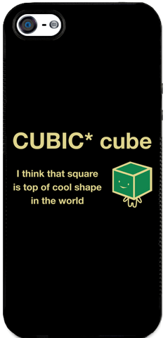Cubic Cube - iPhone 5 Case