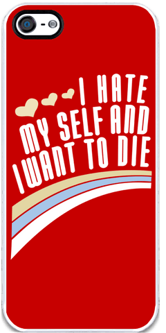 I Hate Myself - iPhone 5 Case