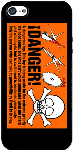 Danger - iPhone 5 Case
