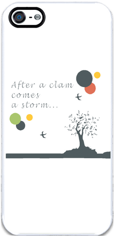 After a Clam - iPhone 5 Case
