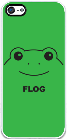 Flog - Green iPhone 5 Case
