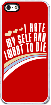I Hate Myself - iPhone Case