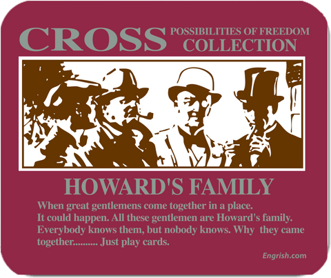 Howard's Family - Mousepads