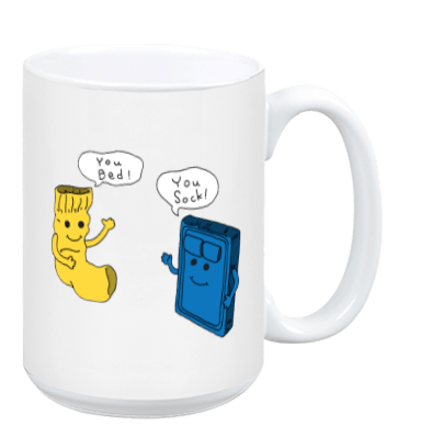 You Bed You Sock - Mug