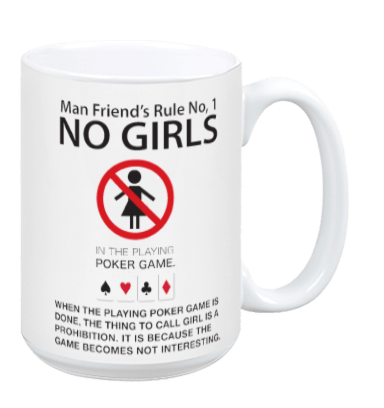No Girls - Mug