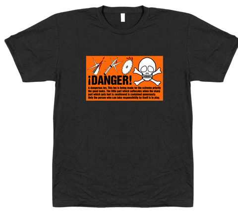 Danger - T-shirt