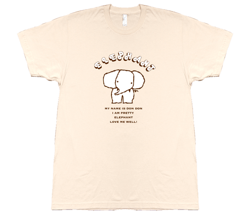Don Don the Elephant - T-shirt