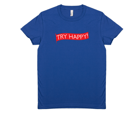 Try Happy - Women's Tee
