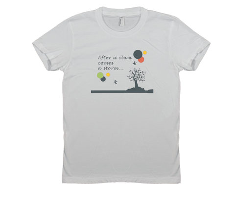 After a Clam - Women's Tee
