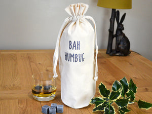 Bah Humbug Bottle Bag
