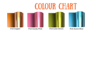 Load image into Gallery viewer, Foil colour chart