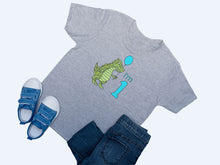 Load image into Gallery viewer, 1st Birthday Dinosaur T-shirt