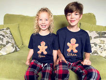 Load image into Gallery viewer, Gingerbread Christmas Family Matching Pyjamas