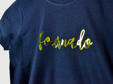 Load image into Gallery viewer, Fournado Slogan 4th Birthday T Shirt, close up