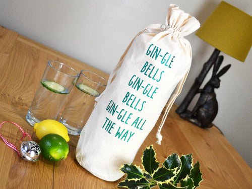 Gin-gle Bells Bottle Bag