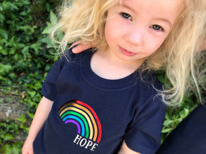 Rainbow of hope t-shirt