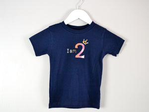 I am age princess birthday t-shirt