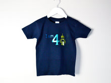Load image into Gallery viewer, I am age robot birthday t-shirt