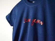 Load image into Gallery viewer, Level Seven Slogan 7th Birthday T Shirt, close up