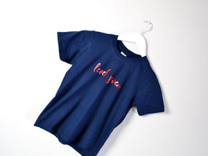 Level Seven Slogan 7th Birthday T Shirt, tilted image