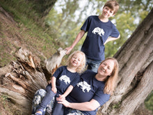 Load image into Gallery viewer, Little, Big and Mummy Bear T-shirts modelled