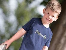 Load image into Gallery viewer, Fournado Slogan 4th Birthday T Shirt, modelled