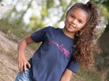 Load image into Gallery viewer, Seven & Sassy Slogan 7th Birthday T Shirt, modelled