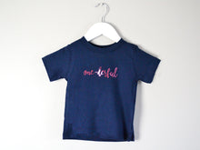 Load image into Gallery viewer, One-Derful Slogan 1st Birthday T-Shirt