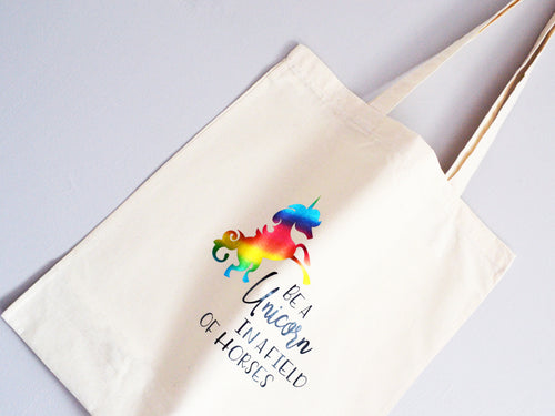 Be a Unicorn Tote Bag