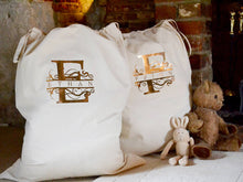 Load image into Gallery viewer, Monogrammed Christmas Gift Sacks