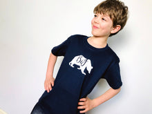 Load image into Gallery viewer, Big bear t-shirt being modelled by big boy