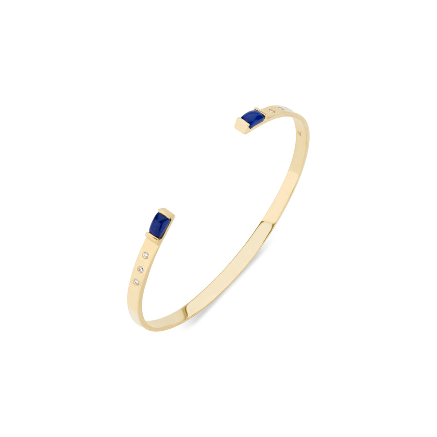 Two Create Fire Lapis Bracelet