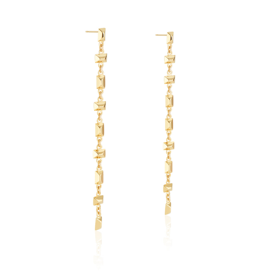 Alternating Sparks Fly Earrings