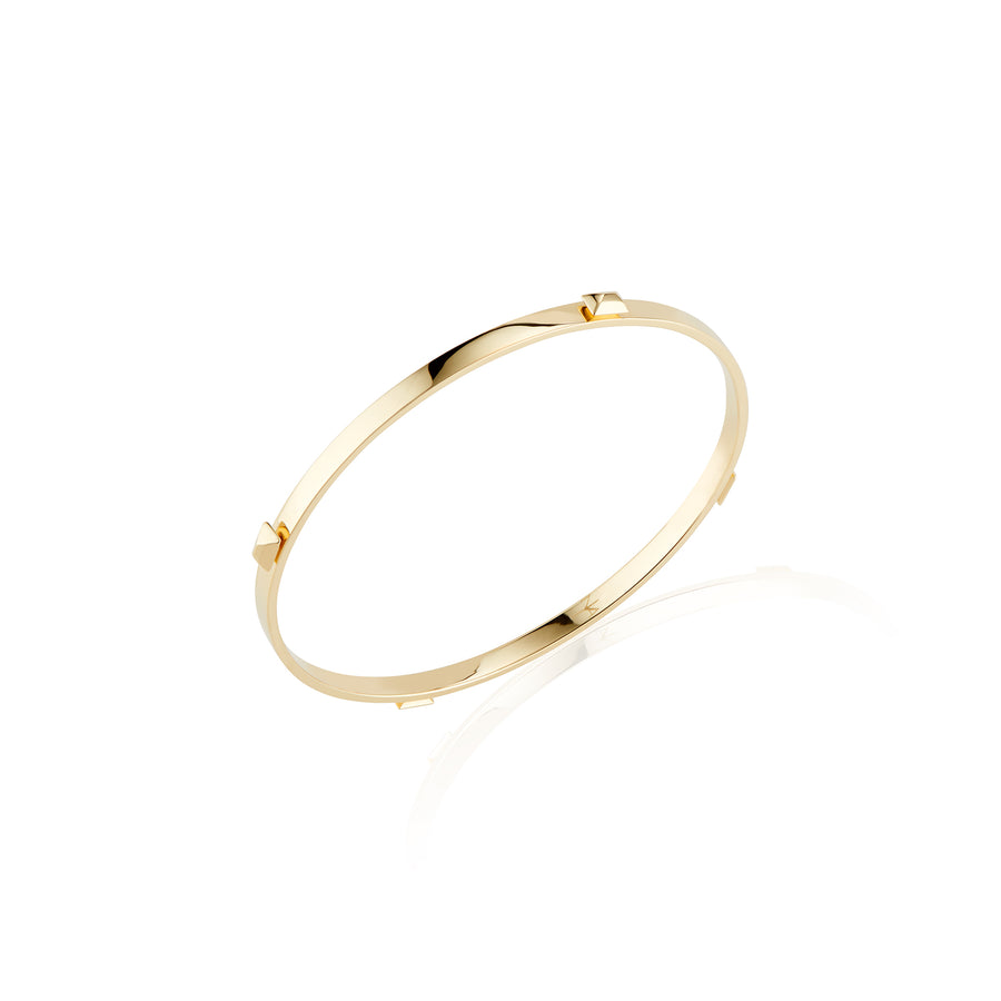 Sparks Fly Bangle Gold