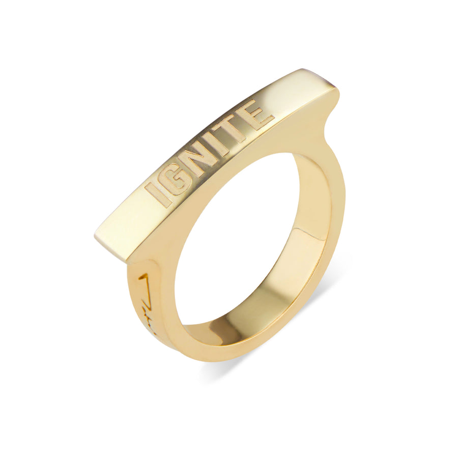 Ignite Mini Matchstick Ring