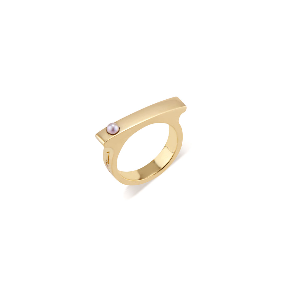 Pearl Mini Matchstick Ring