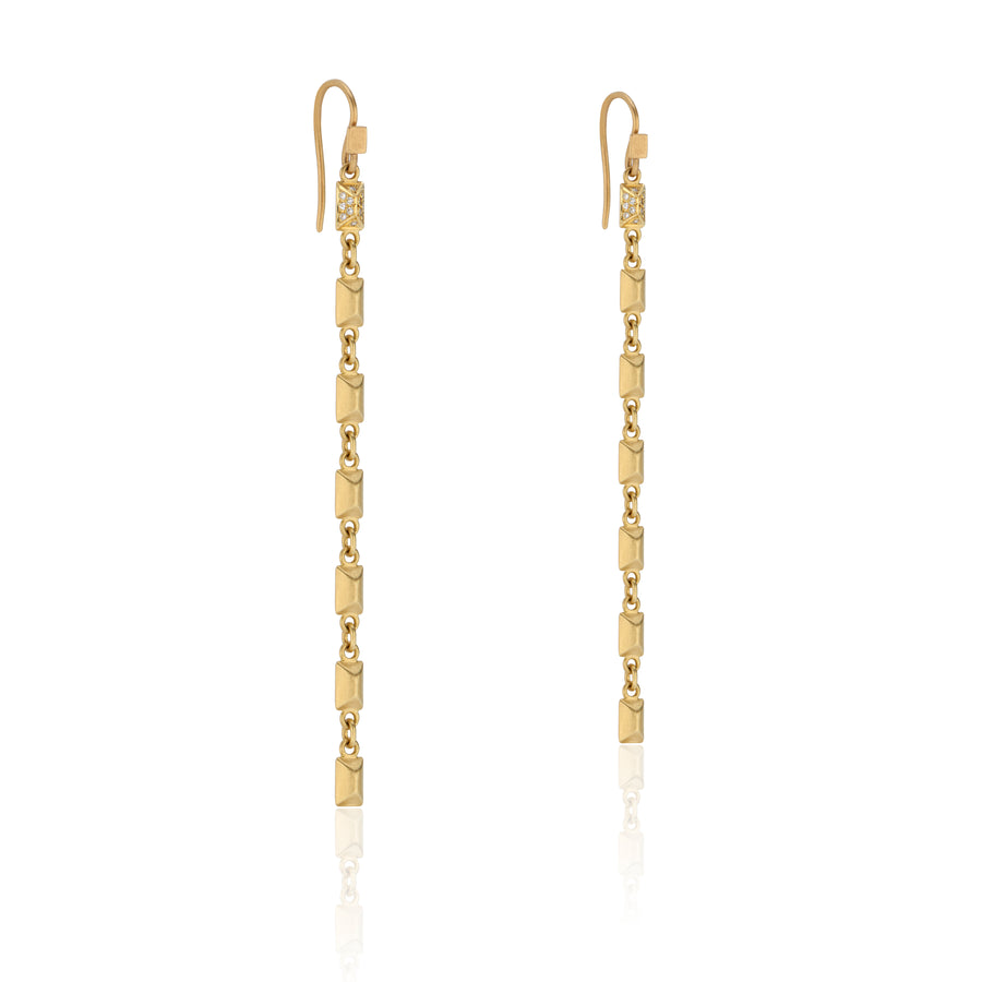 Sparks Fly Pave Diamond Earrings