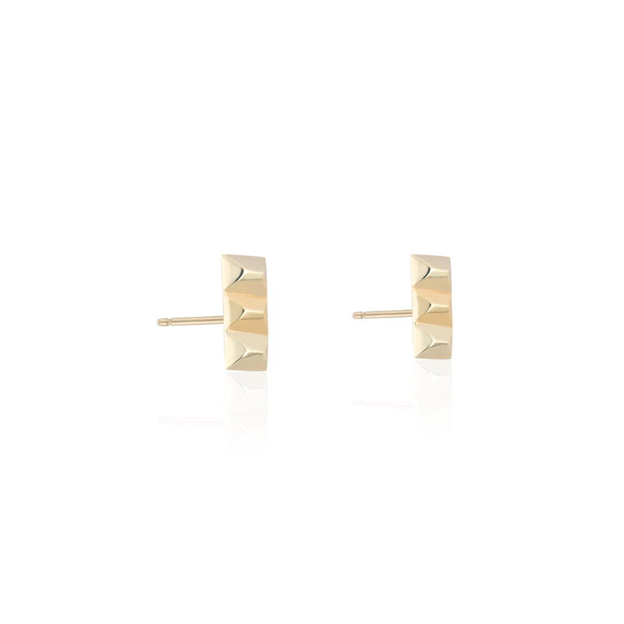 Gold Sparks Fly Bar Studs