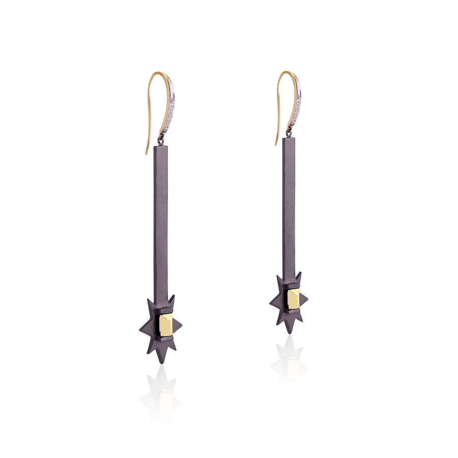Starburst Matchstick Earrings