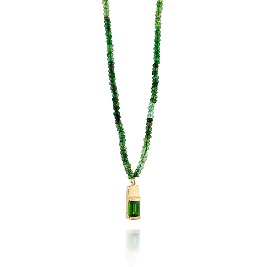 Green is Gold Spark Pendant