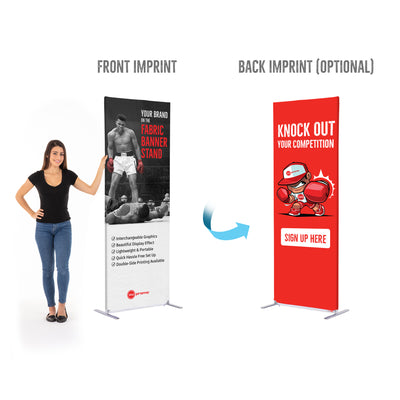 "Fabric Banner Stands - 30""x80"""